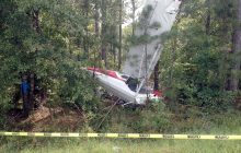A TWO-SEATER plane number 9 JYR V has crashed in Mwinilunga ZAMBIA, killing the pilot identified as Charles Rea, 65.