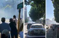 बेइजिङस्थित अमेरिकी दूतावासबाहिर 'विस्फोट'