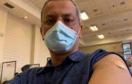 एनआरएनमा पहिलो कोभिड खोप लिने क्यानडा अध्यक्ष चिरञ्जीवी घिमिरे